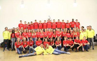 Gruppenfoto des von den FREUNDEN geförderten Fair-Play-Camp 2018.