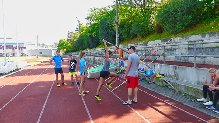 FREUNDE der Leichtathletik – Projektbild Stabhochsprung