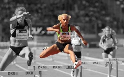 Djamila Böhm 400m H Leichtathletik