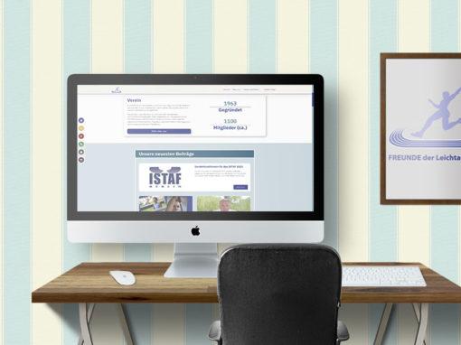 Neues Design der Website