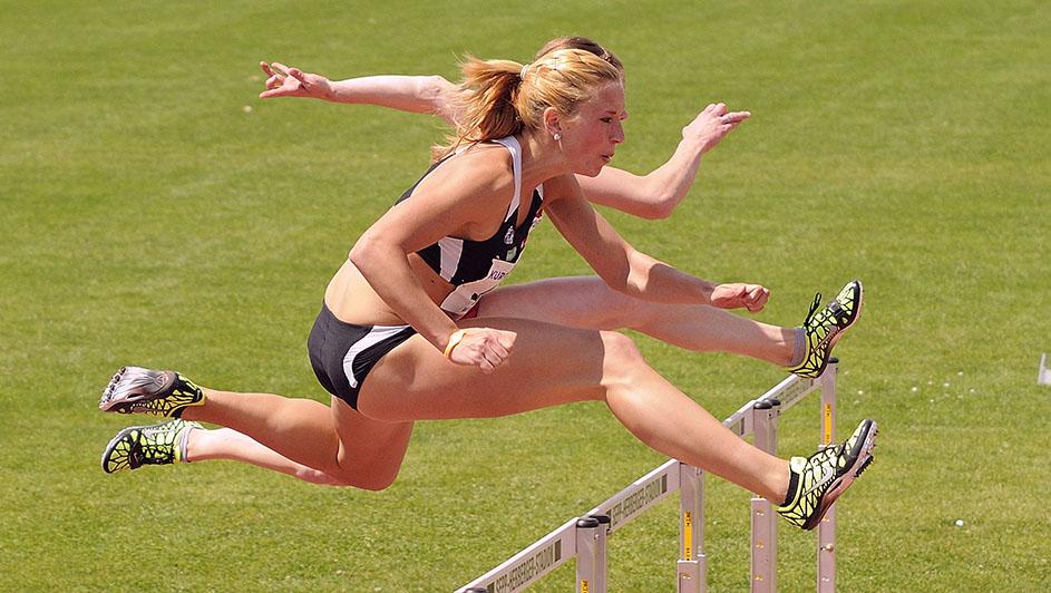 FREUNDE der Leichtathletik – Projektbild Hürdenlauf